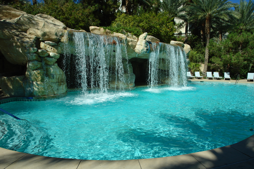 Should you add a rock waterfall to your pool?
